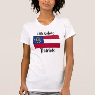 13. Kolonien-Patriot-Frauen - GA weg von Ihrem T-Shirt