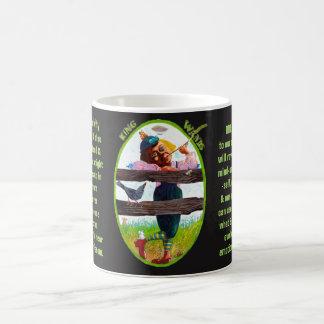 13. König von Wands - Alice-Tarot Kaffeetasse
