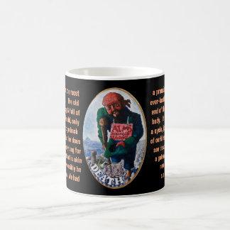 13. Tod - Seemann-Tarot Kaffeetasse