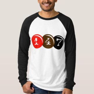 147 Snooker-Bälle T-Shirt