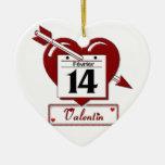 14 f�vrier : f�te des amoureux - décoration de noël