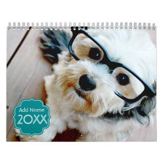 14 Foto-Schlitze - personalisiert Wandkalender