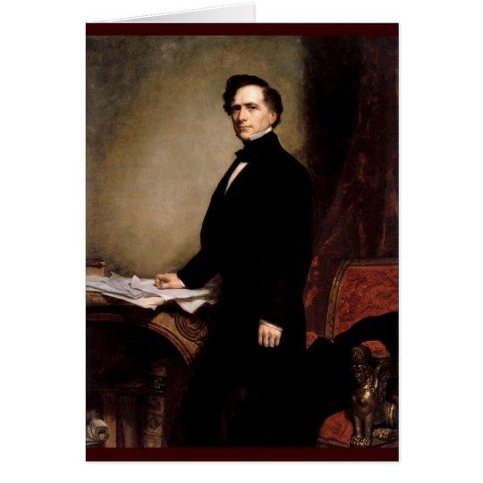 14 Franklin Pierce Grußkarte