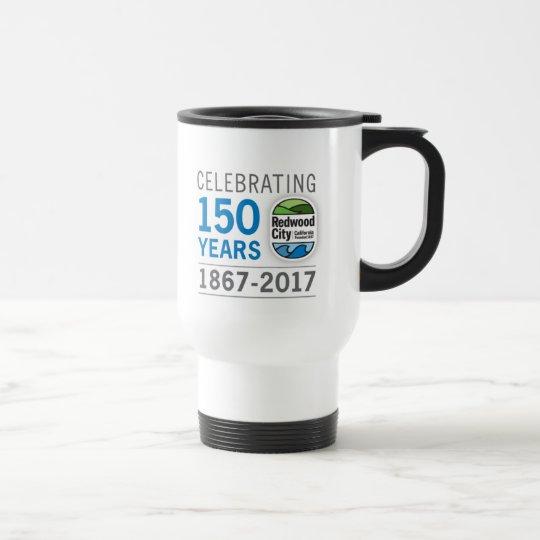 150. Jahrestag Redwood City Edelstahl Thermotasse