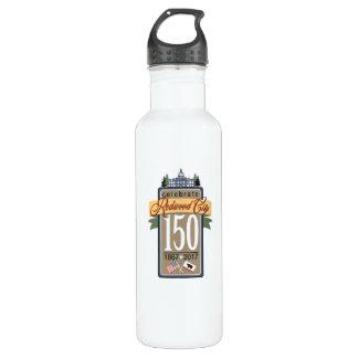 150. Jahrestag Redwood City Edelstahlflasche