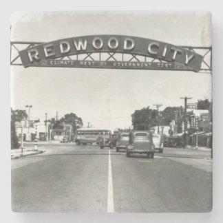 150. Jahrestag Redwood City Steinuntersetzer
