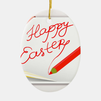 150Happy Easter_rasterized Keramik Ornament