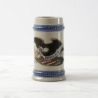 150th Gettysburg-Bier Stein Bierglas