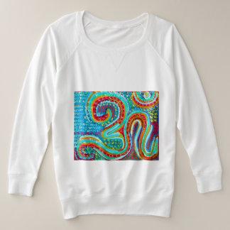 158 Arten 255 färbt OM-BESCHWÖRUNGSFORMEL OMmantra Große Größe Sweatshirt