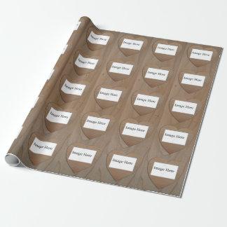 """15 Foto-Collage, Herz-Verpackungs-Papier, 30"""" x 6' Geschenkpapier"""