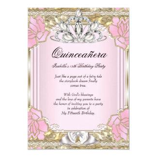 15. Geburtstags-Party Prinzessin-Quinceanera Pink
