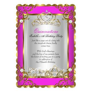 15. Geburtstags-Pink Prinzessin-Quinceanera