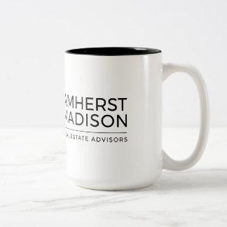 15 Ton-Tasse Unze Amherst Madison zwei Zweifarbige Tasse