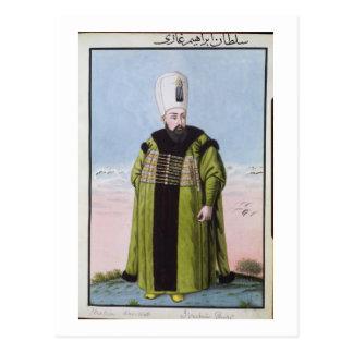 (1615-48) Sultan Ibrahim 1640-48, von 'einer Reihe Postkarte
