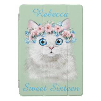 16. Geburtstag-Geburtstags-niedliches Kätzchen iPad Pro Cover
