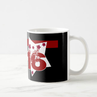 16. Geburtstag oder IRGENDWELCHE Jahr-Sterne V03 Kaffeetasse