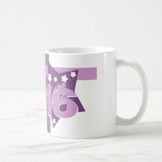 16. Geburtstag oder IRGENDWELCHE Jahr-Sterne V07 Kaffeetasse