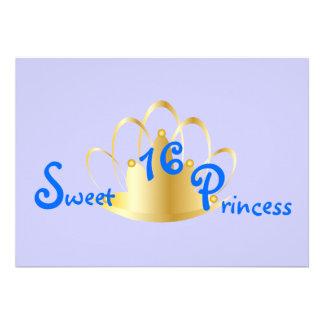 16. Geburtstag Prinzessin-Fertigen besonders an Personalisierte Ankündigung