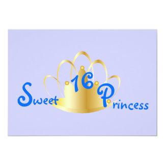16. Geburtstag Prinzessin-Fertigen besonders an 12,7 X 17,8 Cm Einladungskarte