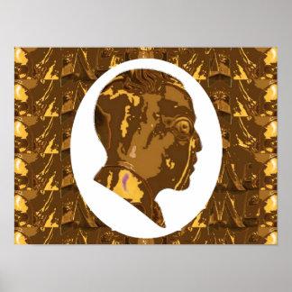 "16x12"" OBAMA: Weltstaatsmann-Visionär Nobel Poster"