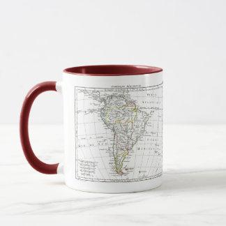 1806 Karte - L'Amérique Méridionale Tasse