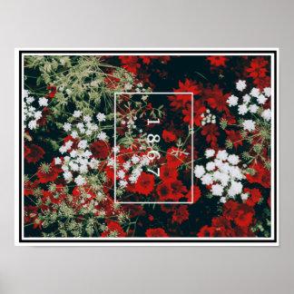 1867 (Flowers desing) Poster