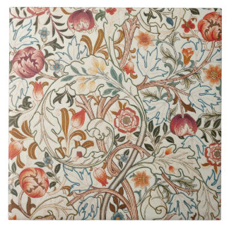 1890 Vintager William Morris Acanthus Portière Keramikfliese