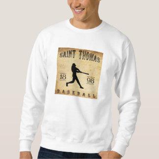 1898 Baseball Heiligen Thomas Ontario Kanada Sweatshirt