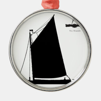 1898 NorfolkWherry - tony fernandes Silbernes Ornament