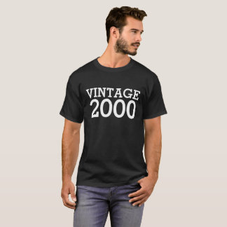 18. Geburtstags-Shirt - Vintages 2000 T-Shirt