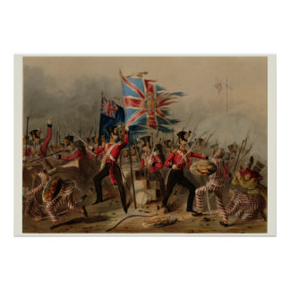 18. Königliches irisches Regiment an Amoy China Poster