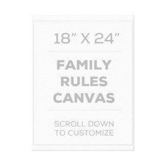 "18"" x 24"" Familie ordnet Leinwand an"