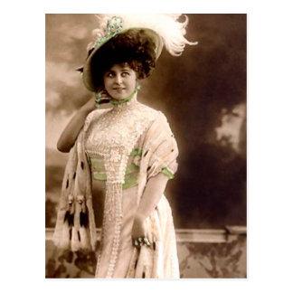 1905 Frühlings-Moden Postkarte