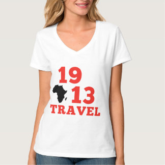 1913 Reisen V - Hals T-Shirt