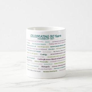 1927 Erinnerungens-90. Geburtstags-Tasse Kaffeetasse