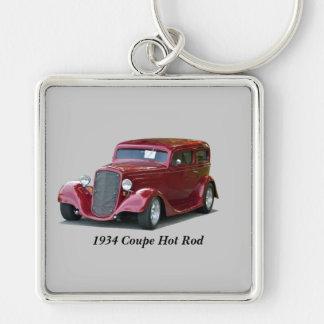 1934 kundengebundenes Coupé-frisiertes Auto Schlüsselanhänger
