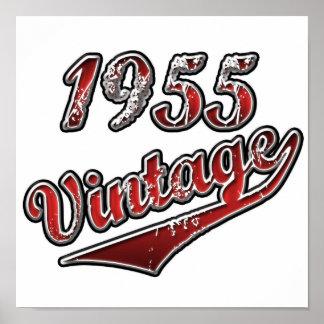 1955 Vintag Poster