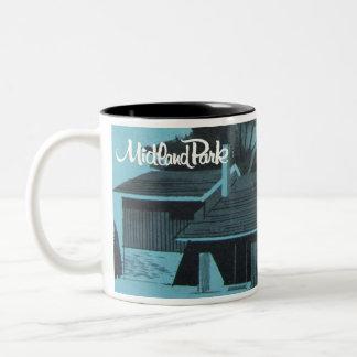 1957 Preis-Sieger - die Parkwood-Tasse Zweifarbige Tasse