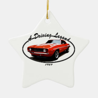 1969_camaro_yenko_orange keramik ornament