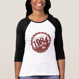 1984 douilles raglanes vintages t-shirt