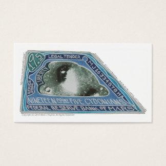 19,5 CYDONIANS Anmerkung-Bank von Mars (+N) X 100 Visitenkarte