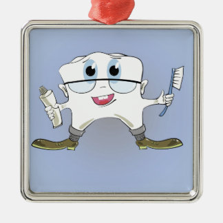 19tooth silbernes ornament