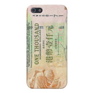 1.000 Hong Kong-Dollarschein iPhone 4 Fall iPhone 5 Schutzhülle