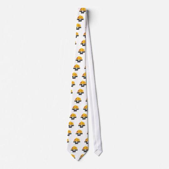 1. April - ein Cent-Tag Krawatte