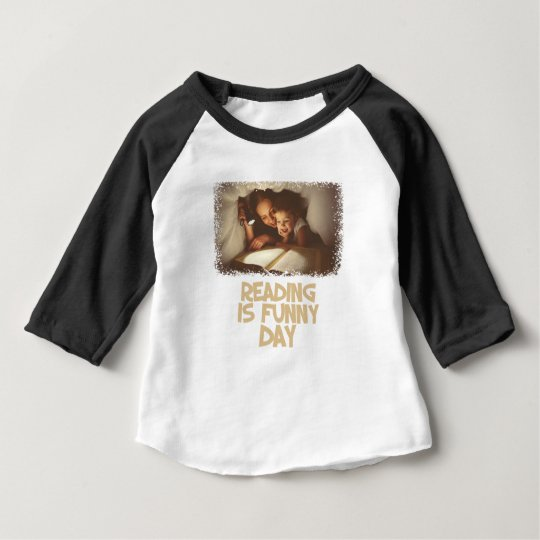 1. April - Lesung ist lustiger Tag Baby T-shirt