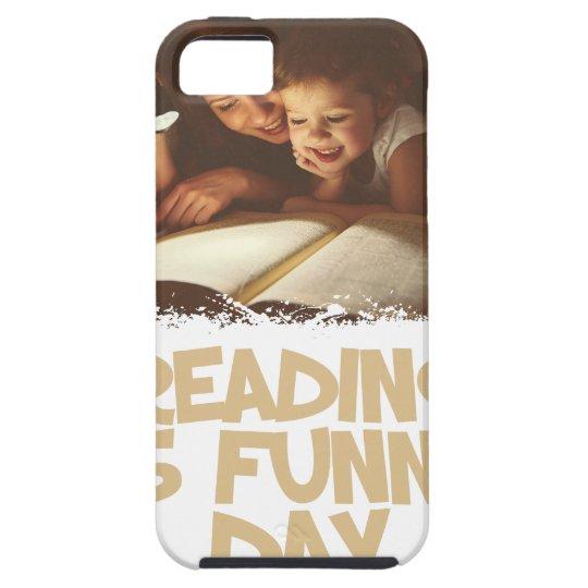 1. April - Lesung ist lustiger Tag Etui Fürs iPhone 5