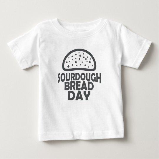 1. April - Sauerteig-Brot-Tag Baby T-shirt