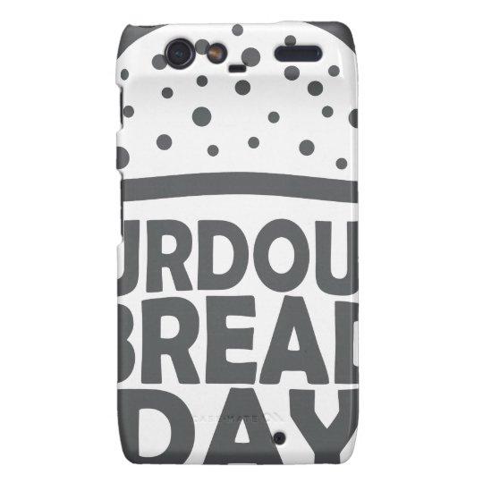 1. April - Sauerteig-Brot-Tag Motorola Droid RAZR Cover