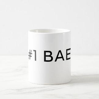 #1 BAE ZAHL EINE BAE Kaffee-Tasse Kaffeetasse