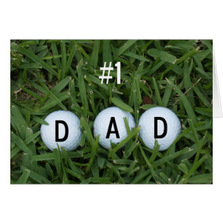 # 1 carte de fête des pères de papa -- Boules de